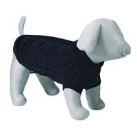 TRIXIE King of Dogs pullover M: 45 cm noir pour chien