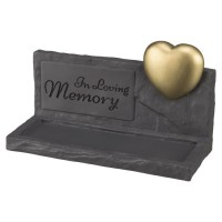 TRIXIE Pierre commémorative Memory - 20x7x12cm - Gris - Pour chien et chat