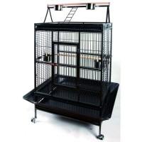 TYROL Cage Big Perroquet 102x79x171cm - Pour oiseau