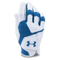 UNDER ARMOUR Gant de golf gaucher Coolswitch Hybrid - Homme - Blanc et bleu