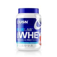 USN Blue Lab Whey Fraise USNUB02 - Bleu et blanc - 750 g