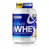 USN Blue Lab Whey Vanile USNBLW13 - Bleu et blanc - 2 kg
