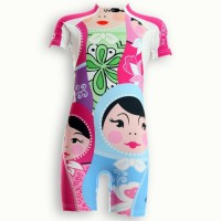 UVEA Combinaison maillot de bain kidsguard anti UV 80+ Manly - Taille 9/18 mois - Imprimé polska