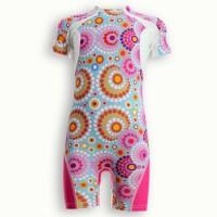 UVEA Combinaison maillot de bain kidsguard anti UV 80+ maillot de bain Manly - Taille 9/18 mois - Couleur galet