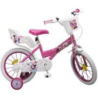 "Vélo 16"" Minnie - Fille - Rose"