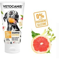 VETOCANIS Shampoing poils courts ou a ras - 300 ml - 0% de Parabene 0% de Silicone - Pour chien