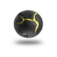 WABOBA Balle Rebondissante 63 mm Enfant Mixte