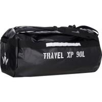 WANABEE Sac de voyage Travel XP 90 L - Noir et blanc
