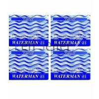WATERMAN Lot de 32 Cartouches d'encre Longues - Bleu