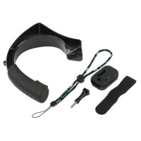 WHIPEARL Stabilisateur GP244 - Conçu pour GO Pro et compatible autres caméras sportives