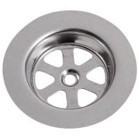 WIRQUIN Grille ronde creuse SP9236 - Inox - Ø 80 mm - Évier en gres