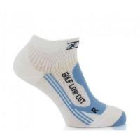 X-BIONIC Chaussettes de Golf Low Cut Femme Blanc