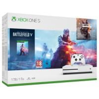 Xbox One S 1 To + 3 Jeux : Battlefield V + Battlefield 1 + Battlefield 1943 + Abo EA Access de 1 mois