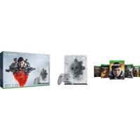 Xbox One X 1 To Edition Limitée + 5 jeux Gears of War + 1 mois d'essai au Xbox Live Gold + 1 mois d'essai au Xbox Game Pass