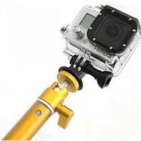 XSORIES Perche Télescopique pour GoPro Big U-Shot - 94 cm - Doré