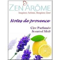 ZEN'AROME Cire Parfumée Note de Provence - Parfum d'Ambiance - Pour Brûle Parfum - Violette
