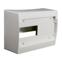 ZENITEC Coffret électrique nu a équiper 1 rangée 13 modules blanc