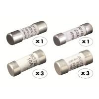 ZENITECH 8 fusibles céramique 3x10A 3x16A 1x20A 1x32A sans voyant