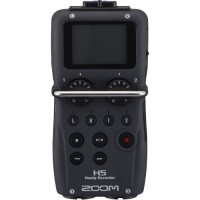 Zoom H5 Enregisteur multipiste numérique 4 pistes a microphones intercheangeables - potentiometres de gain analogiques
