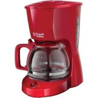 RUSSEL HOBBS 22611-56 Machine a Café Cafetiere Filtre 125L Texture Grande Capacité - Rouge