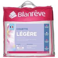 BLANREVE Couette légere en microfibre - 200 x 200 cm - Blanc