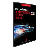 Bitdefender Antivirus Plus 2016 - 1 an - 1 Poste - DVD SLIM