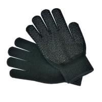 Paire de gants d'équitation - Taille unique - Noir