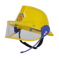SAM LE POMPIER - Smoby - Casque Pompier avec Micro