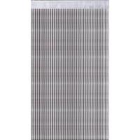 1 Rideau a fils paillettes 90x240cm Blanc