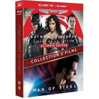BATMAN VS SUPERMAN - MAN OF STEEL /V 2 BD3D