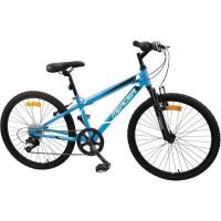 MERCIER Vélo 24'' Cadre Slooping 6 vitesses - Mixte - Bleu