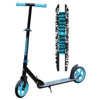 Schildkröt Trottinette City Scooter Street Artist, roues 200mm, trottinette de loisir en aluminium, pliable, idéale pour les enf