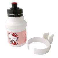Bidon + Porte-Bidon 300ml Hello Kitty