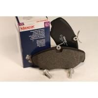 KLAXCAR Jeu de plaquettes de frein - Pour Renault Trafic II / Opel Vivaro / Nissan Primastar