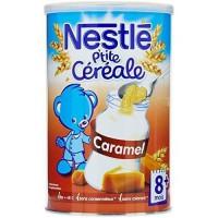 NESTLE P'tite Céréale Caramel - 400 g - Des 8 Mois