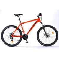 "TVT VTT Homme 27,5"" - Cadre aluminium - Rouge orange fluo"