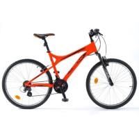 "MICMO VTT 26"" Sword - Cadre acier - Orange fluo"