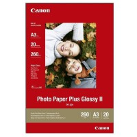 CANON Pack de 1 Papier photo plus 260g/m2 - PP-201 - A3 - 20 feuilles
