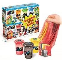 CANAL TOYS - SO SLIME DIY - 3 Slime Shakers Insect + 3 Slime Shakers Creepy Bonus