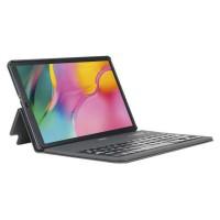 Mobilis Coque de protection Étui Folio pour Samsung Galaxy Tab A 2019 10,1'' avec Clavier français Bluetooth - Noir