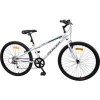 MERCIER Vélo 26'-Cadre acier-6 VITESSES-Freins Vbrake-Blanc