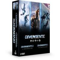 DVD pack Divergente - Coffret : Cinq destins, un seul choix + L'insurrection + Au-dela du mur