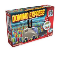 Goliath - Domino Express Track Creator+400 dominos - Jeu de construction