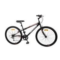 MERCIER Vélo 26'-Cadre acier-6 VITESSES-Freins Vbrake-Noir