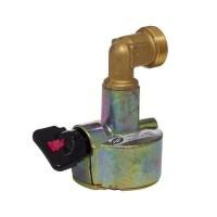 BRASERO TYPE 513 Adaptateur NF bouteille valve Ø27 (BUTAGAZ)