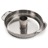 WEBER Support de cuisson pour poulet - En inox - Pour Gourmet BBQ System