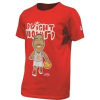 PEAK T-shirt de Basket Dwight Howard - Enfant - Rouge