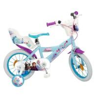"""Vélo Enfant 14"""" La Reine des Neiges 2 Enfant 4/7 ans"""