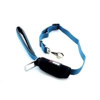 I DOG Laisse Confort - L 100 cm - Bleu et gris - Pour chien