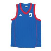 PEAK Maillot de basketball Tony Parker - Enfant - Bleu et rouge